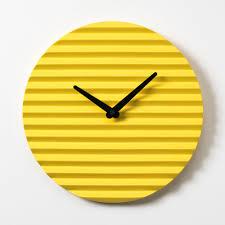 Minimalistic Wall Clock by Sabrina Fossi Design Handmade Italian Design Products