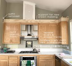 kitchen cabinet trim styles ceiling kitchen cabinet options centsational style