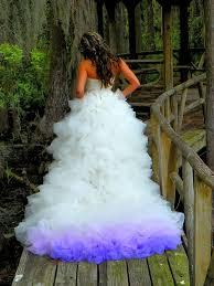 tie dye wedding dress today 30 dip dye wedding dresses trend for a colorful 2018 eddy