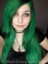 buy dark cool toned green hair colour at haircrazy com
