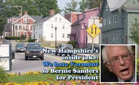 bernie sanders house in vermont new hshire s inside joke dudley dudley endorses bernie sanders