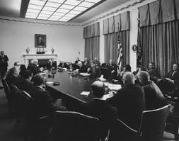 John F Kennedy Cabinet Members Visit Of Members Of The National Export Expansion Council In The