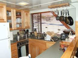 Boat Galley Kitchen Designs A Realtor Who Lives On A Houseboat Mcenearney Associates