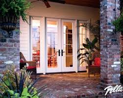 Patio French Doors With Blinds by Pella Sliding Patio Door With Blinds Panel French Patio Doors And