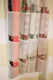 gift wrap storage ideas 10 ways to organize your wrapping paper and gift bags hgtv