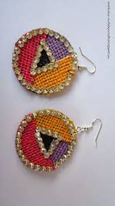 jute earrings handmade jewellery tutorial jute earrings handmade