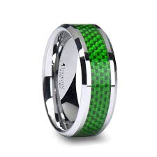 green wedding rings green wedding bands and green tungsten rings