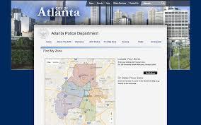Crime Map Atlanta by Priscilla Pun