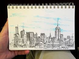 urban sketching urban near and far in nyc outdoorpainter