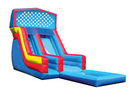 Water Slides Backyard by 16 U0027 Water Slide Inflatable Boca Raton Inflatable Water Slide For Rent