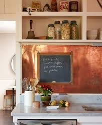 copper backsplash kitchen stunning copper backsplash for modern kitchens copper backsplash