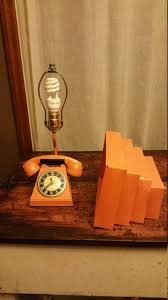 check this vintage mid century telephone desk lamp id lights