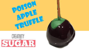 halloween candy apples poison apple truffle disney snow white
