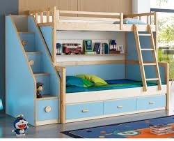 kids double desk simple design sleeping bedroom double deck bed for kids view