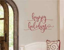happy holidays vinyl decal wall stickers letters words