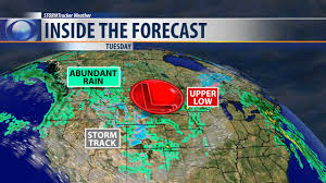 Montana Weather Map by Typical For Spring Rain Possible Every Day This Week Kxlh Com
