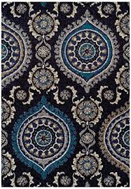 Modern Rug 8x10 Large 8x11 Black Modern Rugs For Living Room Blue Gray