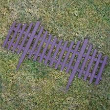 plastic fencing lawn grass border path edging fancy small mini