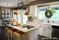 kitchen island pot rack lighted pot rack ebay