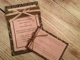 Camouflage Wedding Invitations Camo Wedding Invitations To Make Justsingit Com