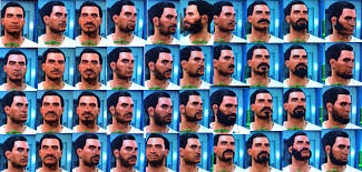 t haircuts from fallout for men fallout 4 list of all hair and beard customization options for male