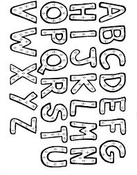 lettres alphabet à colorier az coloriage