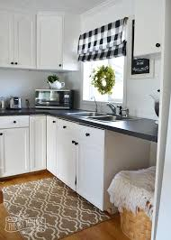 farmhouse kitchen ideas on a budget a budget black and white country cottage farmhouse