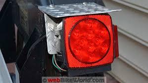 Blazer Trailer Lights Folding Motorcycle Trailer Review Webbikeworld