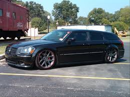 a couple of pics of my magnum srt8 that i bagged huntsville car