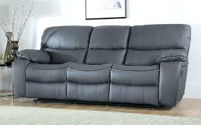Gray Leather Reclining Sofa Grey Leather Recliner Sofa Reclining Sofas Gray And From Rs
