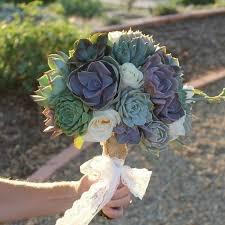 succulent bouquet cuttings wedding rosette succulents wedding succulent favors