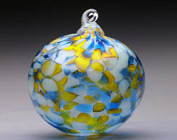 glass ornaments etsy