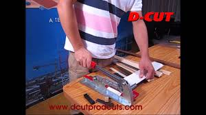 D Cut Laminate Floor Cutter Trim Cutter Hc 040 Youtube