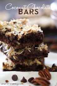 german chocolate cookie bars recipe chocolate cakes bada bing