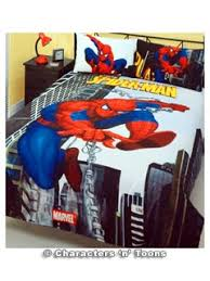 Superhero Double Duvet Set Heroes And Villains Spider Man Bedding Quilt Cover Set Double