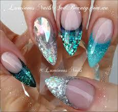 luminous nails nail art pinterest silver nail nail nail and