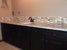 ideas for bathroom countertops bathroom backsplash ideas bathroom glass tile vanity backsplash