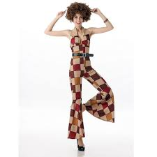 60s jumpsuit okayoasis free shipping 60s 70s retro hippie disco costumes