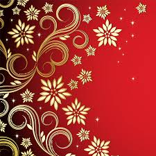 golden ornaments design vector