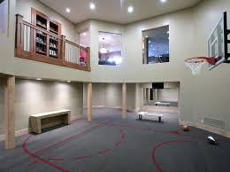 visbeen indoor sport court dimensions contemporary home gym by way of