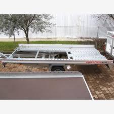 carrello porta auto usato carrello trasporto auto basculante con re posteriori srl