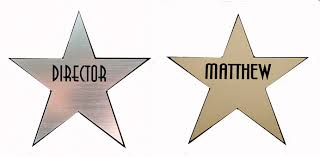image of a hollywood star dressing room door clipart collection