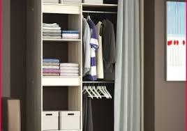 rideaux pour placard de chambre rideau pour dressing 297631 kit dressing amanagement placard galerie
