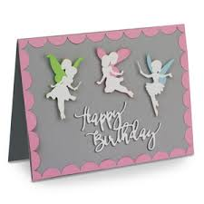 silhouette design store view design 135839 a2 fairy birthday card