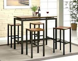 Glass Bar Table And Stools Dining Table Dining Tables Pub Height Round Glass Bar Table