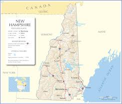 Capital Of Canada Map by New Hampshire Map New Hampshire State Map New Hampshire Road Map