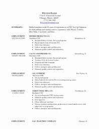 Resume Samples Construction by Cnc Machine Operator Sample Resume Draft Meeting Agenda