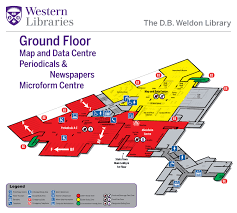 weldon floor plans western libraries western university ground floor library instruction room map data centre periodicals microforms pamphlets a z