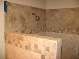 Walk In Shower Without Door Walk In Tile Showers Without Doors Home Design Plan