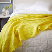 throws and blankets for sofas oversized washed linen bed scarf west elm